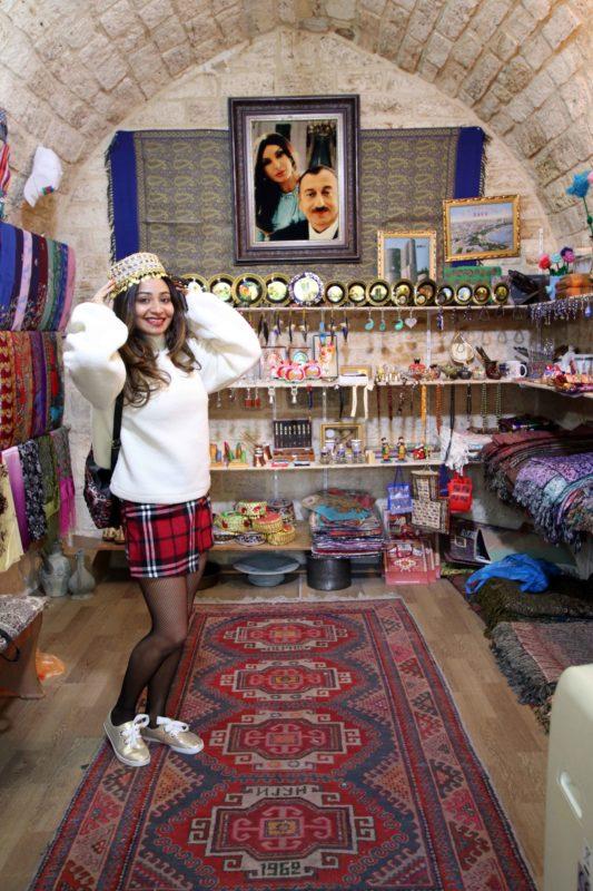 Explore Baku-Shopping in old town